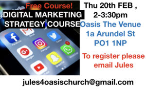 Digital Marketing Strategy (Free Course) @ Oasis The Venue | England | United Kingdom