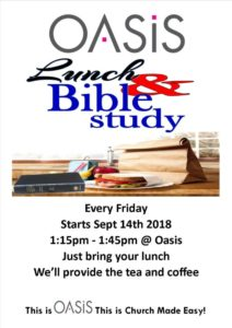 Lunchtime Bible Study