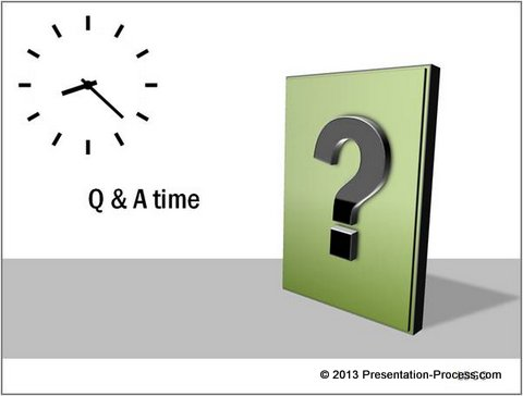 Question Answer Concept Powerpoint Template At Oasis The Venue
